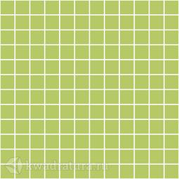 Керамическая мозаика Темари яблочно-зеленый матовый 29.8x29.8