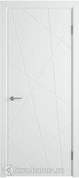 Межкомнатная дверь Меридиан эмаль белая