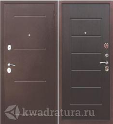 Входная дверь Феррони Гарда 7,5 медный антик/Венге