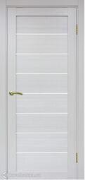 Межкомнатная дверь OPorte Турин 508 Ясень серебристый
