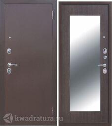 Входная дверь Феррони Царское зеркало MAXI Медь/Венге