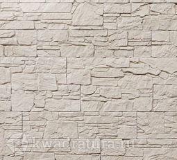 Декоративный гипсовый камень Сланец Алпачи бежевый