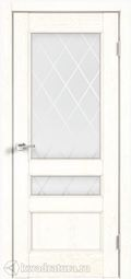 Межкомнатная дверь VellDoris Classico/Азалия 3V Белый ясень