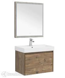 Комплект мебели для ванной Aquanet Nova Lite 75 дуб рустикальный