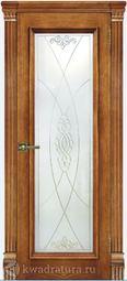 Межкомнатная дверь Магнолия 4 СТ Дуб Антико