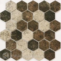 Мозаика керамогранитная Bonaparte Olmeto brown 28,2х27,1