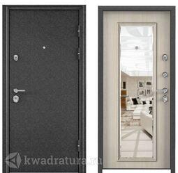 Дверь входная стальная Торэкс Ultimatum MP Черный шелк/КТ Дуб бежевый КВ-11