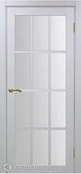 Межкомнатная дверь OPorte Турин 542.2222 белый лед