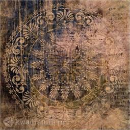 Напольная плитка М-Квадрат Калипсо коричневый 45х45 см