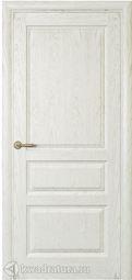 Дверь межкомнатная Самшит ДГ дуб белый жемчуг 700х2000