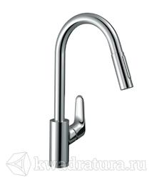 Смеситель для кухни Hansgrohe 31815000 Focus с выдвижным душем
