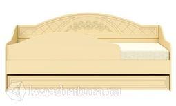 Соня-К Кровать-диван бежевый/бежевый