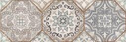 Декор 4 Cersanit Majolica многоцветный 19,8x59,8 см